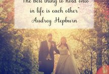 Love Quotes / A collection of our favourite love quotes <3