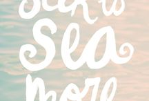 Salty + Sandy / by Erin-Feona Counihan