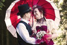 Svatba políbená Steampunkem / Naše červnová pekelná svatba
