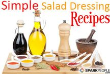 homemade salad dressing / by Peggy Fuller