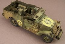 WW2 - M3 SCOUT CAR