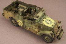 WW2 - M3 SCOUT CAR