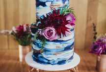 Devine Wedding Treats / Wedding cakes that make a statement of gorgeousness.