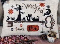 Cross Stitch- Halloween/Fall / by Kimberly Hart