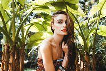 tropical portraits