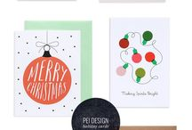 Holiday Cards / A collection of our favorite holiday cards! Don't just write it say it with Tine Tags!