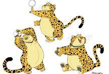 animals stylized