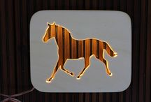 "LAMP ""HORSE"""