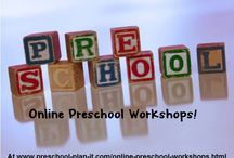 Preschool Teacher Professional Development Ideas / Online workshops and other ideas for preschool teacher professional development.