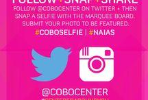 #coboselfie / Cobo selfie campaigns / by Cobo Center, Detroit