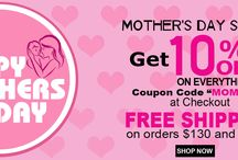 MOTHER'S DAY SPECIAL / This Mother's Day treat your mom with surprise gifts with our exclusive Mothers Day discount offer. Spaze Apparel is offering flat 10% discount on all brands so you can get your mother the amazing present she deserves. We offer a complete range of Women's wear which includes T-Shirts, Performance Polo, Pants, Shorts, Tank Tops and much more you can choose from with assorted colors and different sizes available. This Offer is Valid from 11 to 14 MAY.
