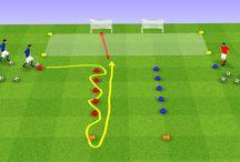 Fotball øvelser