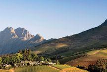 südafrikanische Weingegend