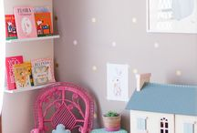 Pastel toddler room / interiors, toddler, room, girls, big girl