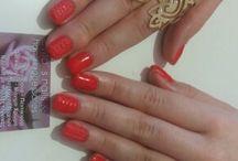 My semilac - evita's nails