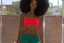 I love Afro! / Afros- the bigger the better