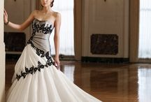 Ruha mennyaszonyi színes, Colored bridal dress, Farbiges Hochzeitskleid