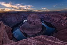 Horseshoe Bend, Page, Arizona. / Horseshoe Bend in Page, Arizona