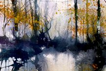 painted landscapes