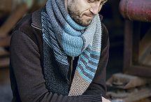 Tørklæder til mænd - strik