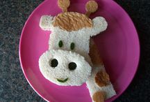 Creative/Cute Kids Food!! / by Michelle Cook