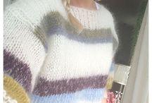 Strikk genser