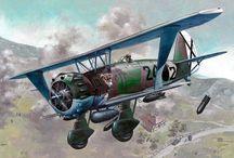 aviones guerra civil