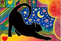 Gatos em Ilustrações