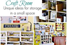 Craft Storage/Rooms / by Pat Gremminger