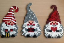hama beads christmas