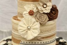 Cakes - Unique Wedding / Not for everyone, these cakes are very personal.