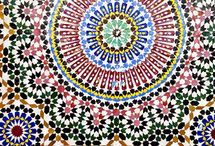 Moroccan tile art
