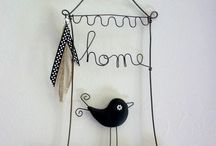 birds and bird themes / birds, paper crafts, cages, animal