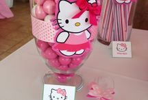 Hello kitty birthday bash