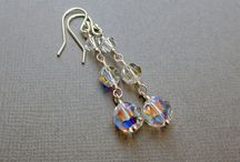 Swarovski Jewelry by Beadin' By The Sea / One offs that I have created from my bead box. Only 1 available in each style!
