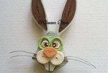 Húsvét quilling