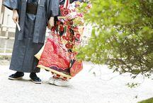 kimono / 着物style wedding