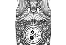 Полный рукав татуировки