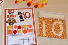 pre-school: thanksgiving