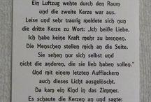 Sprüche /Gedichte