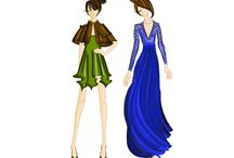 My work..fashion illustration