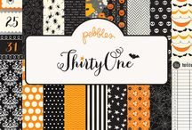 Thirty-One Collection / Projects featuring the Pebbles Inc. Thirty-One Collection #Halloween #scrapbooking #cards #papercrafts #crafts #DIY Released Summer 2013 / by Pebbles Inc.