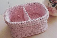 Spagetti yarn ideas