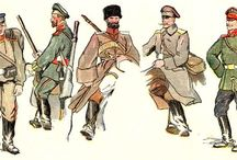 Russie tsariste / Tenue des nobles et des tsars au temps des Romanov