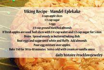 Viking Food/ Vikinge mad