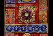 mixed media mosaics