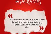 Les citations Sauramps / Voici les citations du lundi et du vendredi des librairies Sauramps.