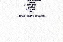 Words. / by jenn
