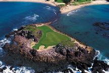 Golf Around the World / Beautiful golf courses around the world, including Myrtle Beach, California, Hawaii, and Florida.  / by BookIt.com®