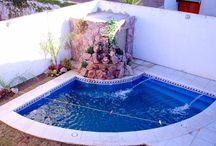 Piscinas pequeñas para patios o jardines